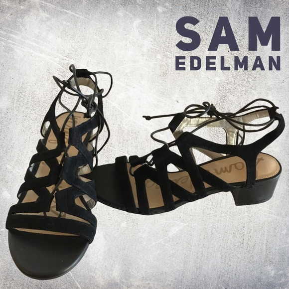 802253bad28c Sam Edelman Shoes - NWOT Sam Edelman Ardella Lace-Up Suede Sandal 6.5
